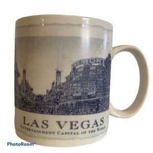 Starbucks mug Las Vegas 2006 city blue